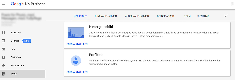 Google MyBusiness Profilbild